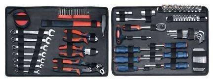 Einhell Kwb 3708-10 101-teiliger Wasserfester Werkzeugkoffer