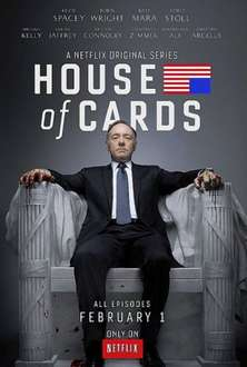 1. Staffel House of Cards (DVD) für ca. 19,20 Euro @amazon.co.uk