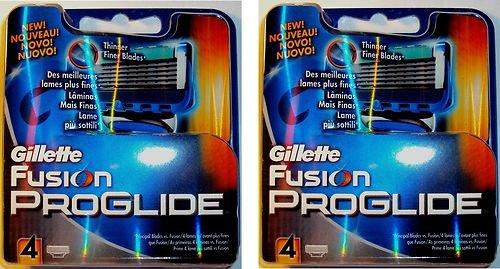 Gillette FUSION PROGLIDE 8 Rasierklingen VSK-Frei