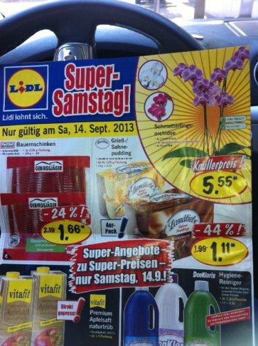 [Lidl] Samstag 14.09. Landliebe Gries-/ Sahnepudding 4er Pack 1,11 Euro