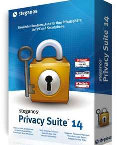 Steganos Privacy Suite für 9,95 EUR