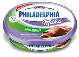 Philadelphia Milka Haselnuss Geschmack GRATIS testen bis zum 28.02.2014