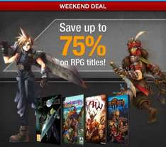 RPG Sale bei GameFly (z.B. Final Fantasy 7 über Steam)