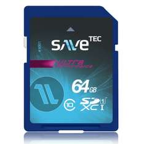 64 GB SaveTec SDXC Speicherkarte Class10 64GB UHS-I
