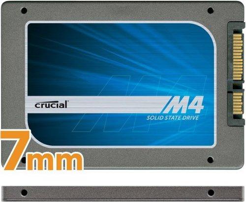 "Crucial m4 Slim SSD 128GB, 2.5"", SATA 6Gb/s (CT128M4SSD1) 81,80€ @arveno.de"