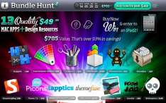 BundleHunt: Bundle mit 5 Mac-Apps und 8 Design-Ressourcen (WP-Themes, Icons etc)