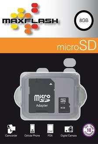 MaxFlash 8GB microSD Speicherkarte Kostenlos