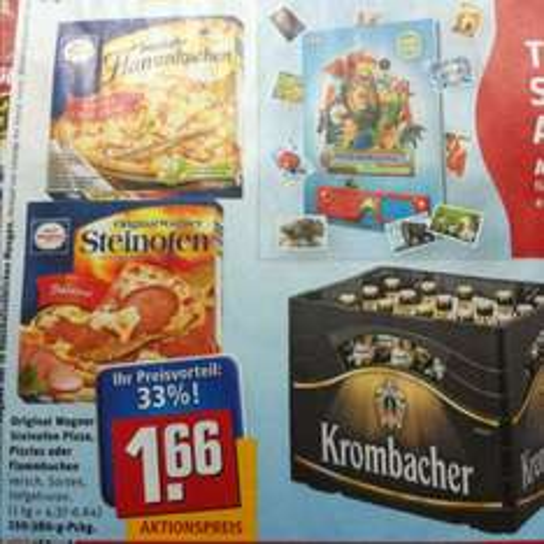 (REWE) Wagner Pizza/Flammkuchen 1,66€
