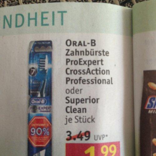 Rossmann: Oral-B Zahnbürste 0,99 €, Elektrische Zahnbürste nur 24,99 € mit Coupon