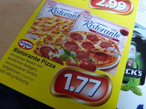 [Ecenter Struve Hamburg] Dr. Oetker Ristorante Pizza für 1,77€