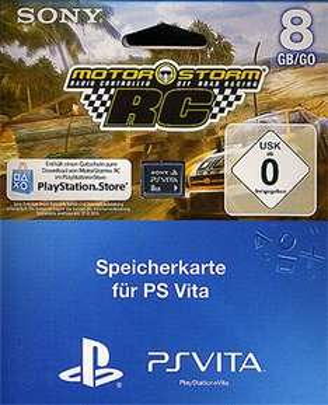 8 GB PS Vita Speicherkate mit MotorStorm RC 15€ Saturn Stuttgart
