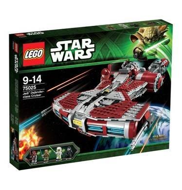 Galeria Kaufhof online Lego 75025 Star Wars Jedi Defense Class Cruiser 71,99€ inkl. Versand !!NUR HEUTE!!