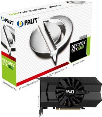 "Palit™ - PCIe Grafikkarte ""GTX660 OC"" (2GB GDDR5,2x DVI,HDMI,DisplayPort) ab €139,54 [@MeinPaket.de]"