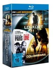 [Blu-ray] Luc Besson Action Box & Die I love Paris Family Box je 21,98€ @ OFDB