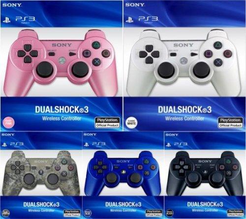 Sony™ - DualShock 3 Wireless Controller (Weiß,Schwarz,Blau,Pink,Camouflage) für €35,62 [@Zavvi.com]