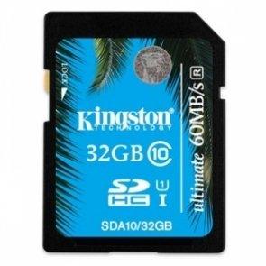 Kingston 32GB SDHC UHS-I Ultimate Speicherkarte für 21,99 € @ Zoombits
