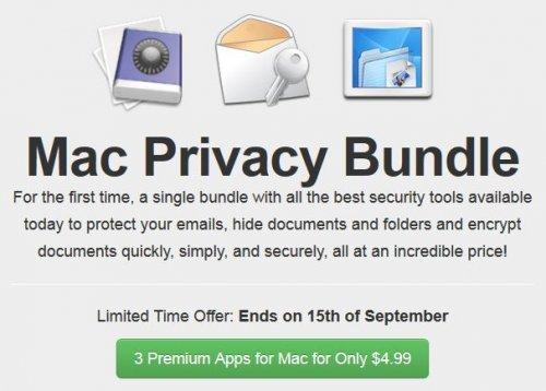 (MAC) Das Mac Privacy Bundle von Bundleecious mit bis zu 4 Apps für nur 3,79€