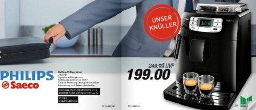 [Marktkauf Bielefeld] Philips Saeco Intelia Focus HD8751 - Kaffeevollautomat