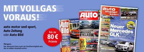 Auto-Motor-Sport Jahres Abo über Deutsche Post