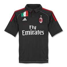 AC Milan 3. Trikot 12/13 in Gr. L & XL für 23,99 Euro - Amazon.de