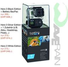 [Lokal: Erlangen] GoPro Hero 3 Black inkl. Battery BacPac