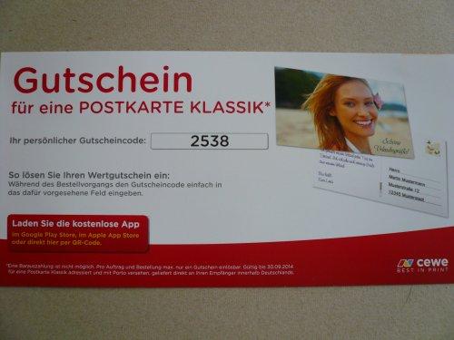 Postkarte gratis verschicken