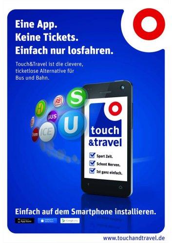 250 gratis bahn.bonus-Punkte nach Registrierung bei Touch&Travel