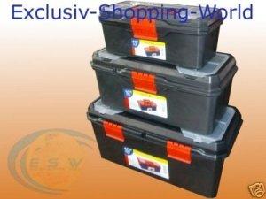 Werkzeugkiste Set (3Tlg Leerset) 9,99 + 6,95 VSK