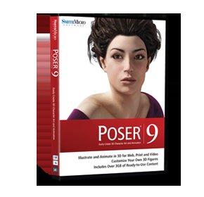 3D-Software Poser 9 --- (25 statt 123 EUR)