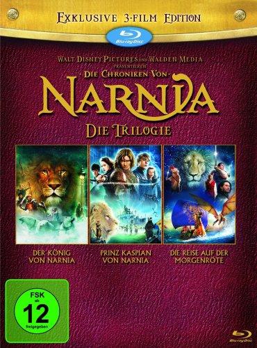 Die Chroniken von Narnia - Die Trilogie [Blu-ray] für 17,97 €