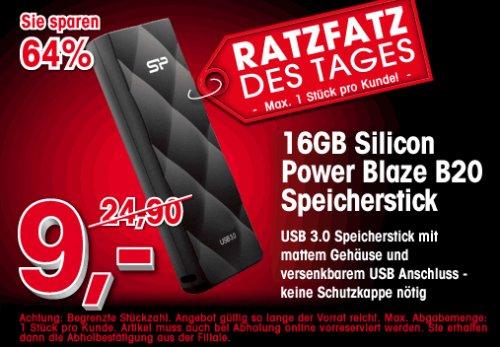 [ARLT] 16GB - USB3 - Silicon Power Blaze B20 - Nur Abholung! [Offline]