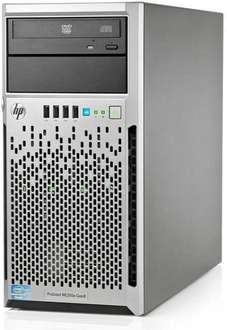 HP ProLiant ML310e G8, Xeon E3-1220 V2 4x 3,1GHz Turbo bis 3,5GHz, 2GB RAM, 500GB Server
