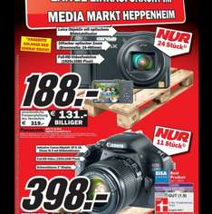 Panasonic Lumix DMC-TZ36 188€ Media Markt Heppenheim [lokal] nur am 13.09