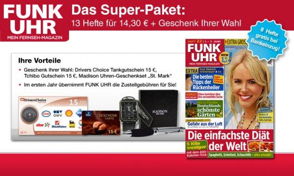 Gratis: 21x FunkUhr (mit Gewinn) @ magclub.de