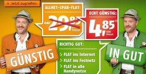 4 Monate Klarmobil Allnet Flat nur 4,85 pro Monat
