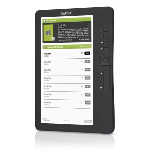 TrekStor ebook-Reader 3.0 2GB für nur 27,99 EUR inkl. Versand [gebraucht/12 Monate Gewähr]