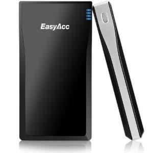 Externer Akku EasyAcc® 10.000mAh PowerBank 3.1A 2 USB Ausgänge (5V 1A, 2.1A) @Amazon