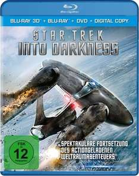 Star Trek Into Darkness 3D-Blu-Ray inkl. 5€ pizza.de Gutschein