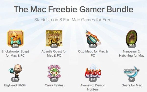 Echter Knüller! Mac Freebie Gamer Bundle von Stacksocial mit 8 kostenlosen Spielen! Auch für PC!