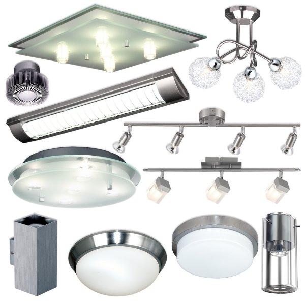 eBay WOW - diverse Lampen für Dahemme (Bad, Eingang, Wohnzimmer etc.) für je 20€