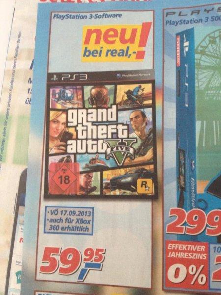 GTA für 59,95€, ganz ohne Quälerei bei REAL