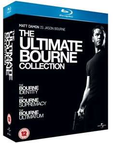 The Ultimate Bourne Collection (Blu-ray) für 9,34 @ Wowhd