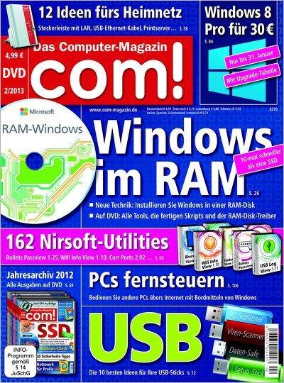 COM! mit DVD für effektiv 14,88