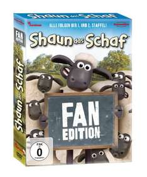 Shaun das Schaf - Fan Edition (Pop-Up Verpackung inkl. 6 Meisterschaf-Spots) [4 DVDs]  für 18,97 @Amazon