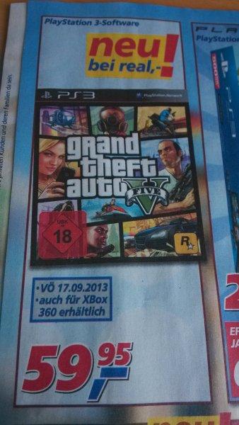 [Real Karlsruhe/Umgebung - Bundesweit?] GTA - Grand Theft Auto V - PS3 - xbox360?
