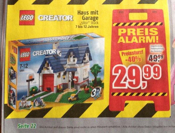 LEGO Creator 5891, Haus mit Garage, Marktkauf