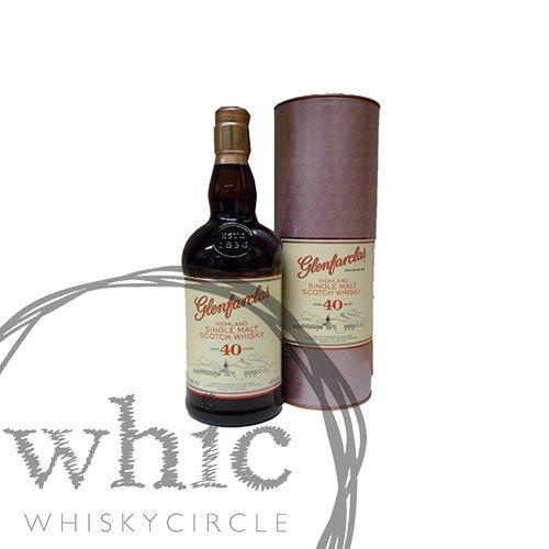 Glenfarclas 40 Jahre Whisky 46% 0,7l Flasche