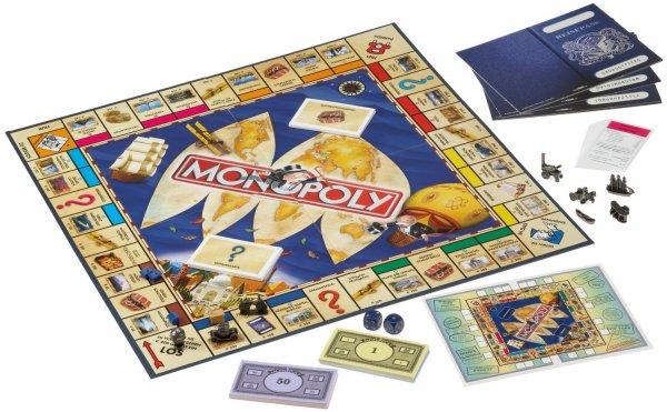 [Kaufhof] Monopoly Weltreise 19,99€ (inkl. Versand) [Gesellschaftsspiel]