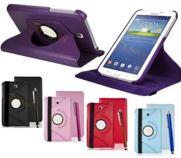 Samsung Galaxy Tab 3 7.0 360° Ständer bzw. Schutztasche + Pen + Displayfolie 7,99€