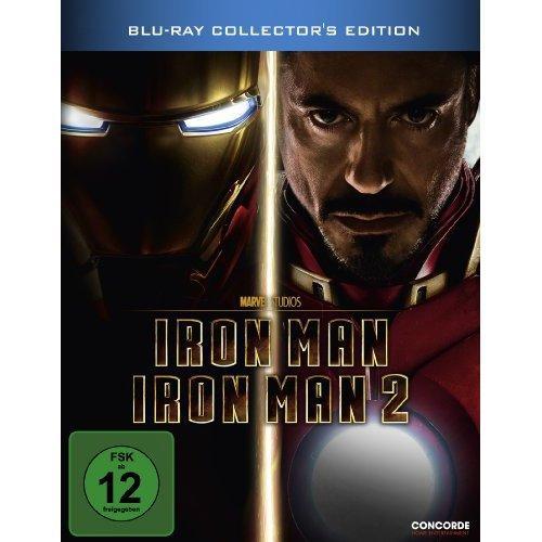 Iron Man 1+2(limited Steelbook) [Blu-ray]wieder für 17,99 bei Amazon